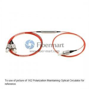 2X2 1310nm Polarization Maintaining Optical Circulator