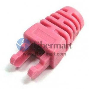 Cat5e RJ45 Network Cable Plug Colored Boot Claws Type without Cap 100/Pkg
