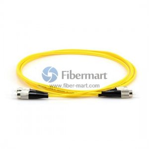 FC-FC Duplex 9/125 Single-mode Fiber Patch Cable