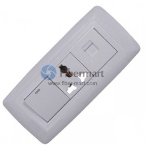 TCL Legrand 1x3Port+1xRJ45+1xSwitch Socket Outlet Wall Face Plate 118 Type U Series