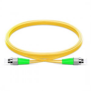 10M FC APC to FC APC Duplex 2.0mm LSZH 9/125 Single Mode Fiber Patch Cable
