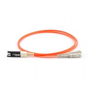 1M VF45 to SC Duplex OM1 Multimode Fiber Optic Patch Cable
