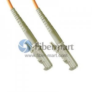 E2000-E2000 Simplex OM1 62.5/125 Multimode Fiber Patch Cable