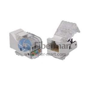 Cat5E Unshielded(UTP) Keystone Jack/ Network Jack Module