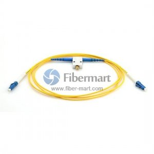 LC/UPC to LC/UPC Variable Fiber Optic VOA In-Line Attenuator 0-60dB