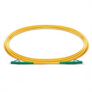 10M LC APC to LC APC Simplex 2.0mm PVC(OFNR) SMF Bend Insensitive Fiber Patch Cable