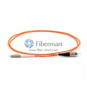 FC-LC Plenum(OFNP) Simplex 50/125 Multi-mode Fiber Patch Cable