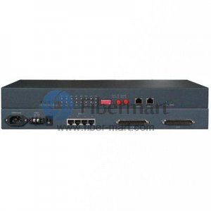 16 x E1 to 4 x Ethernet 10/100 Base-T Interface/Protocol converter