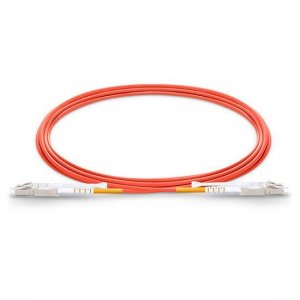 LC UPC to LC UPC Duplex 3.0mm LSZH OM2 Multimode HD Fiber Patch Cable