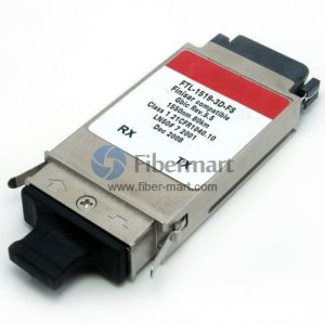 Finisar FTL-1519-3D Compatible 1Gigabit Long-Wavelength GBIC Transceiver