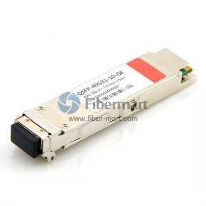 40GBASE-LR4-Lite QSFP+ 1310nm 2km LC Transceiver for SMF