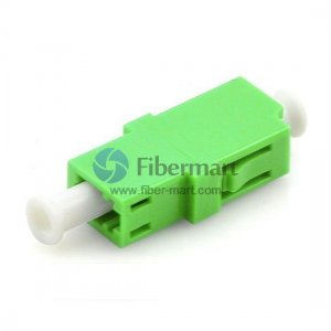 LC/APC to LC/APC Single-mode Simplex Plastic Fiber Adapter
