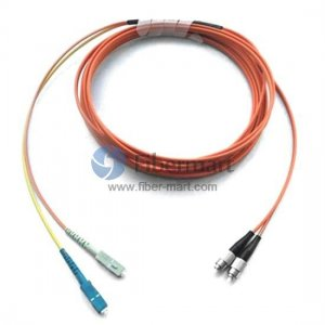 FC equip to SC Multimode OM1 62.5/125 Mode Conditioning Patch Cable