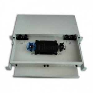 96 Fibers Sliding Rack Mounted Fiber Optic Terminal Box as distribution box FM/RS-LC-96C