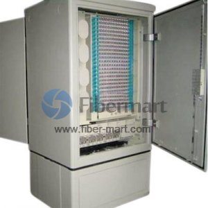 Avoid jumper SMC 144 Fibers Optical Cross Connection Cabinet