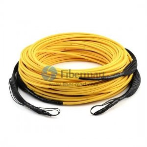 Pulling eye 50M Multimode 6 Fiber LC/FC/SC/ST Pre-terminated Fiber Cable