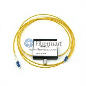 LC/APC to LC/APC Variable Fiber Optic VOA In-Line Attenuator 0-30dB