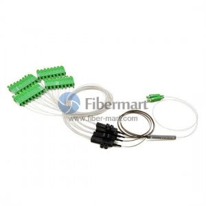 2x32 Fiber PLC Splitter with Fan-out Kits