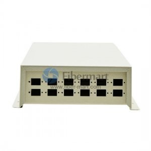 12 Fibers Wall Mounted Fiber Optic Terminal Box As distribution box FM-48A/ST12