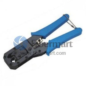 Dual-Modular Network Plug Crimps, Strips & Cuts Tools Talon Model# TL-318