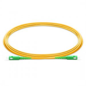 10M SC APC to SC APC Simplex 2.0mm LSZH 9/125 Single Mode Fiber Patch Cable