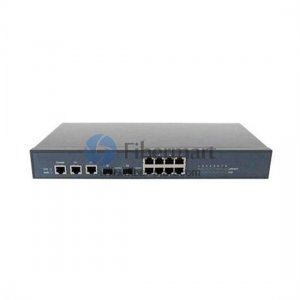 Enhanced full-managed Ethernet POE Switch with 8 100M ports and 2 gigabit ports