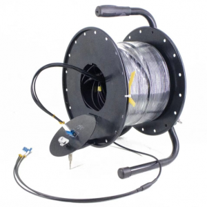 Deployable Tactical Fiber Optic Cable Reel Portable Field