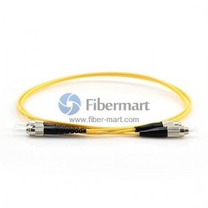 FC-ST Duplex 9/125 Single-mode Fiber Patch Cable