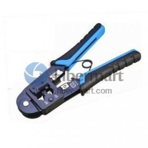 Dual-Modular Network Plug Crimps, Strips & Cuts Tools Talon Model# TL-268