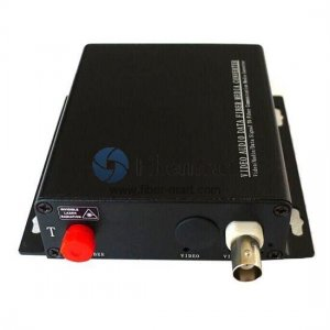 1 Channel HD-AHD over Optical Fiber Transmitter and Receiver Set