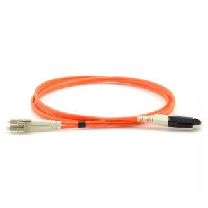1M VF45 to LC Duplex OM1 Multimode Fiber Optic Patch Cable