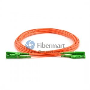 E2000-E2000 Plenum(OFNP) Duplex 50/125 Multi-mode Fiber Patch Cable