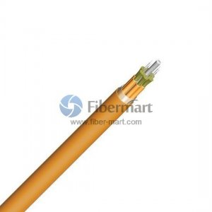 12 Fibers Single-mode Breakout Fiber Optic Indoor Cable-LSZH