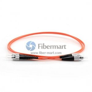 FC-ST Duplex OM1 62.5/125 Multimode Fiber Patch Cable