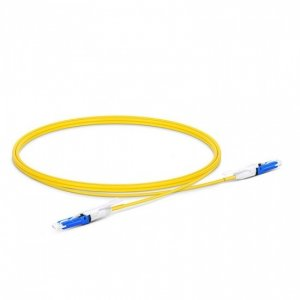 CS UPC to CS UPC Duplex OS2 SingleMode PVC (OFNR) 2.0mm Fiber Optic Patch Cable 1m (3ft) 200/400G Network Connection