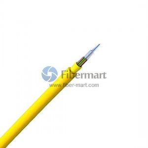 12 Fibers 50/125μm Multimode 10G OM3 Multi-Core Round Tight Buffered Distribution Indoor Fiber Optic Cable-LSZH