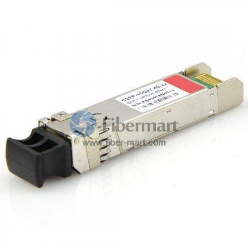 10GBASE 1470nm~1610nm CWDM SFP+ 40km Transceiver