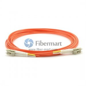 LC-LC Plenum(OFNP) Duplex 62.5/125 Multi-mode Fiber Patch Cable
