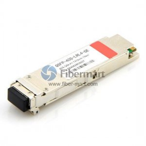 40GBASE-LR4 QSFP+ 1310nm 10km OTU3 Transceiver for SMF