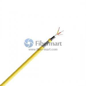 1 Fiber 50/125μm Multimode High Temperature Multicore Teflon(PTFE) jacket sensor cable
