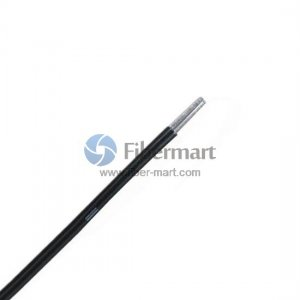 2 Fibers 960/1000µm Core/Cladding Step Index PMMA 2.2mm Single Jacket Duplex Plastic Fiber