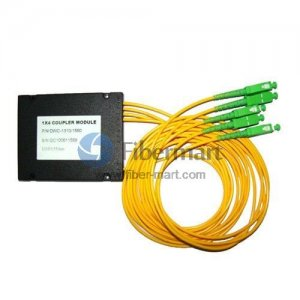 1x4 FBT Splitter Singlemode Three Window Fiber Splitter with ABS Box