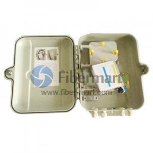1x16 Fiber Optical Splitter SMC Terminal Box As Distribution Box FM-CSMC-16A