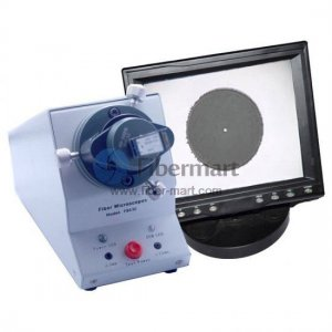 FM-430-400MM Microscope d'inspection de fibre