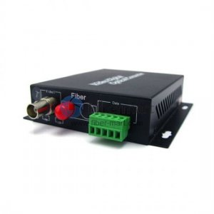 1 Channel Forward Video & 1 channel Forward Data & 2 channel Forward Audio to Fiber SM 20km Optical Video Multiplexer