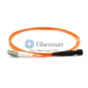 LC-MTRJ Duplex OM2 50/125 Multimode Fiber Patch Cable