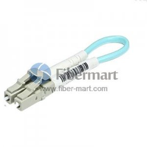 LC Connector 10G OM3 Multimode 50/125 Fiber Loopback Cable