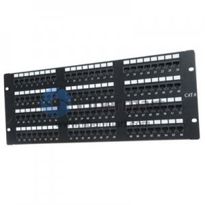 96 Ports Cat6 Patch Panel for Networking 4U