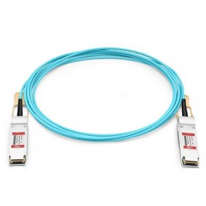 10m (33ft) 100G QSFP28 Active Optical Cable Cisco QSFP-100G-AOC10M Compatible