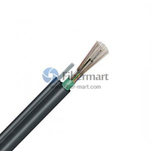 12 Fibers Single-mode Aerial Self-supporting Figure 8 Single-Armored Waterproof Stranded Loose Tube Cable GYTC8S